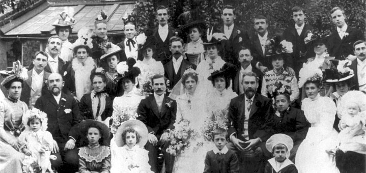 1900 Wedding of Richard Chambe...